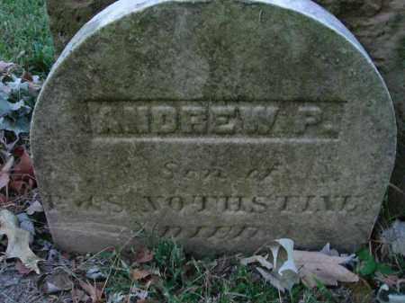 NOTHSTINE, ANDREW P. - Fairfield County, Ohio | ANDREW P. NOTHSTINE - Ohio Gravestone Photos
