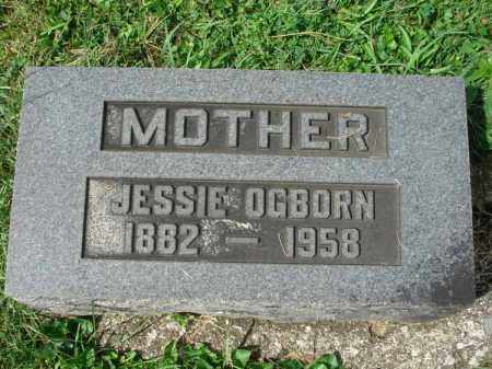 OGBORN, JESSIE - Fairfield County, Ohio | JESSIE OGBORN - Ohio Gravestone Photos