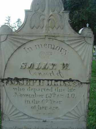 OLDS, SALLY W. - Fairfield County, Ohio   SALLY W. OLDS - Ohio Gravestone Photos