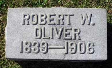 OLIVER, ROBERT W. - Fairfield County, Ohio | ROBERT W. OLIVER - Ohio Gravestone Photos