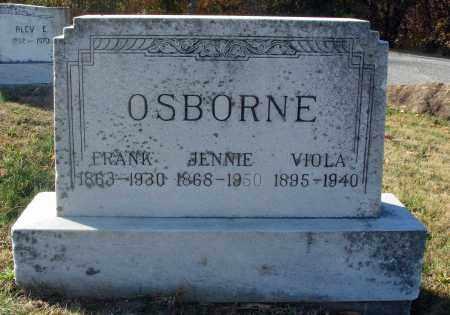 BAKER OSBORNE, JENNIE A. - Fairfield County, Ohio | JENNIE A. BAKER OSBORNE - Ohio Gravestone Photos