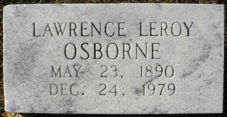 OSBORNE, LAWRENCE LEROY - Fairfield County, Ohio | LAWRENCE LEROY OSBORNE - Ohio Gravestone Photos