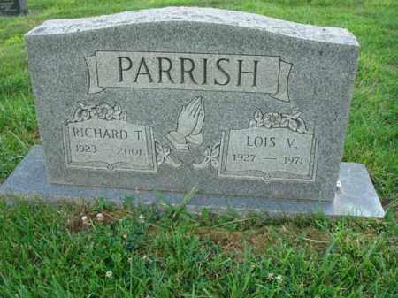 PARRISH, RICHARD T. - Fairfield County, Ohio | RICHARD T. PARRISH - Ohio Gravestone Photos