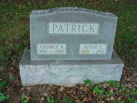 PATRICK, ADDIE C. - Fairfield County, Ohio | ADDIE C. PATRICK - Ohio Gravestone Photos