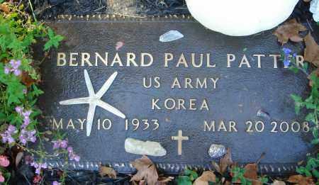 PATTER, BERNARD PAUL - Fairfield County, Ohio | BERNARD PAUL PATTER - Ohio Gravestone Photos