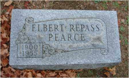 PEARCE, ELBERT REPASS - Fairfield County, Ohio | ELBERT REPASS PEARCE - Ohio Gravestone Photos