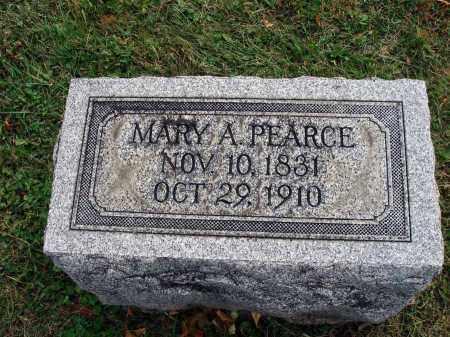 PEARCE, MARY A. - Fairfield County, Ohio | MARY A. PEARCE - Ohio Gravestone Photos