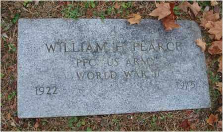 PEARCE, WILLIAM H. - Fairfield County, Ohio   WILLIAM H. PEARCE - Ohio Gravestone Photos