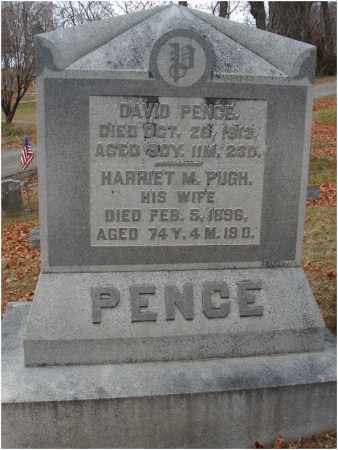 PUGH PENCE, HARRIET M. - Fairfield County, Ohio | HARRIET M. PUGH PENCE - Ohio Gravestone Photos