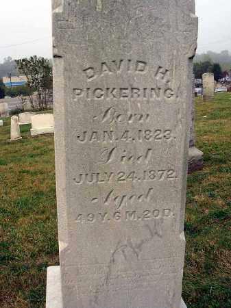 PICKERING, DAVID H. - Fairfield County, Ohio   DAVID H. PICKERING - Ohio Gravestone Photos