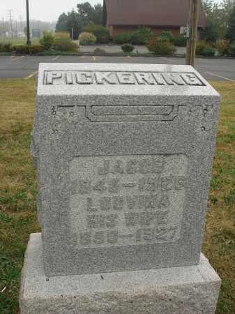 PICKERING, JACOB - Fairfield County, Ohio | JACOB PICKERING - Ohio Gravestone Photos
