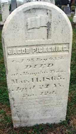PICKERING, JACOB - Fairfield County, Ohio   JACOB PICKERING - Ohio Gravestone Photos