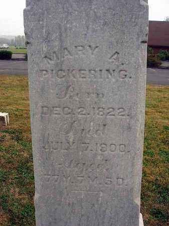 PICKERING, MARY A. - Fairfield County, Ohio | MARY A. PICKERING - Ohio Gravestone Photos