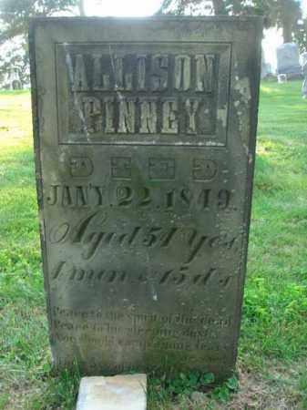 PINNEY, ALLISON - Fairfield County, Ohio | ALLISON PINNEY - Ohio Gravestone Photos