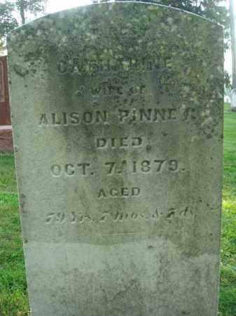 PINNEY, CATHARINE - Fairfield County, Ohio   CATHARINE PINNEY - Ohio Gravestone Photos