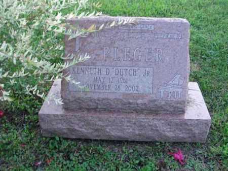 "PLEGER, KENNETH D. ""DUTCH"" - Fairfield County, Ohio | KENNETH D. ""DUTCH"" PLEGER - Ohio Gravestone Photos"