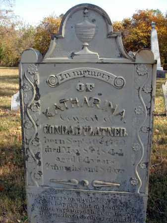 GORDON PLOTNER, KATHARINA - Fairfield County, Ohio | KATHARINA GORDON PLOTNER - Ohio Gravestone Photos