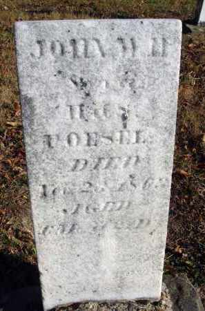 POESEL, JOHN W. H. - Fairfield County, Ohio | JOHN W. H. POESEL - Ohio Gravestone Photos