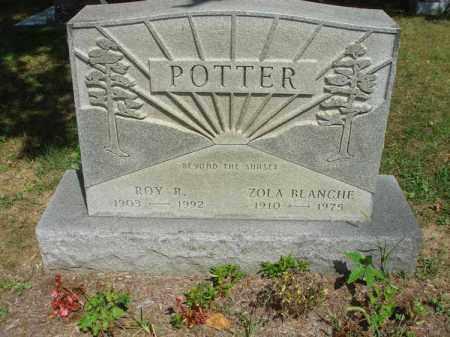 POTTER, ROY R. - Fairfield County, Ohio | ROY R. POTTER - Ohio Gravestone Photos