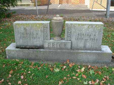 PRICE, BERTHA A. - Fairfield County, Ohio | BERTHA A. PRICE - Ohio Gravestone Photos