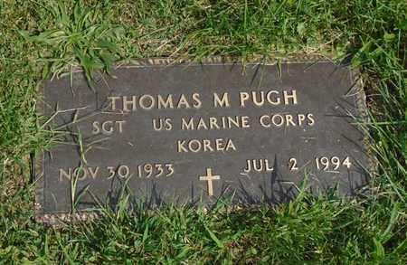 PUGH, THOMAS M - Fairfield County, Ohio | THOMAS M PUGH - Ohio Gravestone Photos