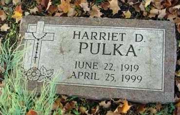 PULKA, HARRIET D. - Fairfield County, Ohio   HARRIET D. PULKA - Ohio Gravestone Photos
