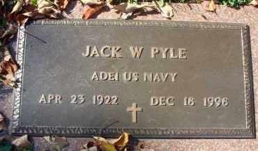 PYLE, JACK W. - Fairfield County, Ohio   JACK W. PYLE - Ohio Gravestone Photos