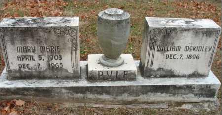 PYLE, MARIE MARIE - Fairfield County, Ohio | MARIE MARIE PYLE - Ohio Gravestone Photos