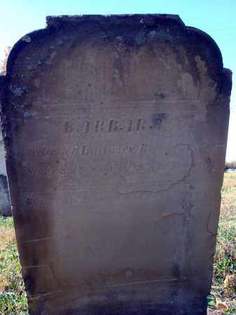 R--?, BARBARA - Fairfield County, Ohio | BARBARA R--? - Ohio Gravestone Photos