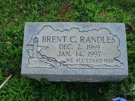 RANDLES, BRENT C. - Fairfield County, Ohio | BRENT C. RANDLES - Ohio Gravestone Photos