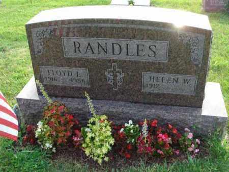 RANDLES, FLOYD L. - Fairfield County, Ohio | FLOYD L. RANDLES - Ohio Gravestone Photos