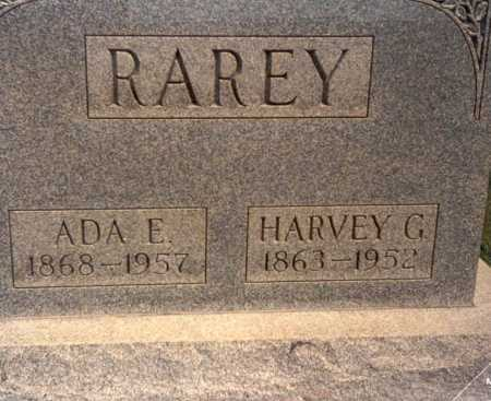 RAREY, HARVEY G. - Fairfield County, Ohio | HARVEY G. RAREY - Ohio Gravestone Photos