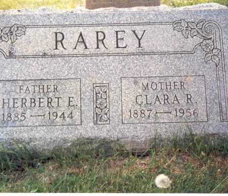 RAREY, HERBERT E. - Fairfield County, Ohio | HERBERT E. RAREY - Ohio Gravestone Photos