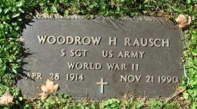 RAUSCH, WOODROW H. - Fairfield County, Ohio | WOODROW H. RAUSCH - Ohio Gravestone Photos