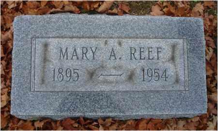 REEF, MARY A. - Fairfield County, Ohio   MARY A. REEF - Ohio Gravestone Photos