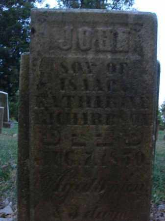 RICHARDSON, JOHN - Fairfield County, Ohio | JOHN RICHARDSON - Ohio Gravestone Photos
