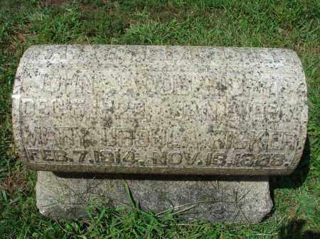 RICKER, MARY URSULA - Fairfield County, Ohio | MARY URSULA RICKER - Ohio Gravestone Photos