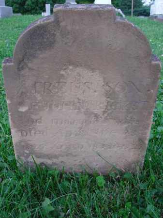 RICKETS, ATREUS - Fairfield County, Ohio | ATREUS RICKETS - Ohio Gravestone Photos