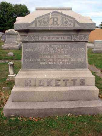 RICKETTS, IRAD - Fairfield County, Ohio   IRAD RICKETTS - Ohio Gravestone Photos