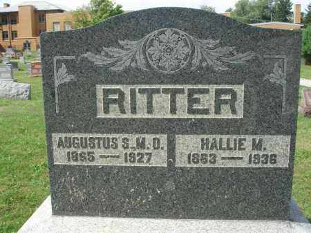 RITTER, AUGUSTUS S. - Fairfield County, Ohio | AUGUSTUS S. RITTER - Ohio Gravestone Photos