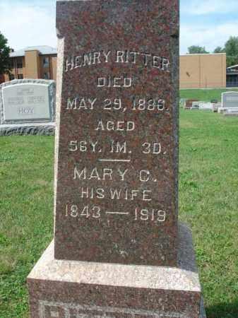RITTER, MARY C. - Fairfield County, Ohio | MARY C. RITTER - Ohio Gravestone Photos