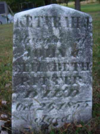 RITTER, KETHRAH J. - Fairfield County, Ohio | KETHRAH J. RITTER - Ohio Gravestone Photos