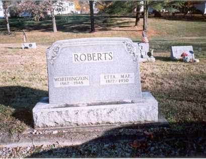 ROBERTS, ETTA MAE - Fairfield County, Ohio | ETTA MAE ROBERTS - Ohio Gravestone Photos