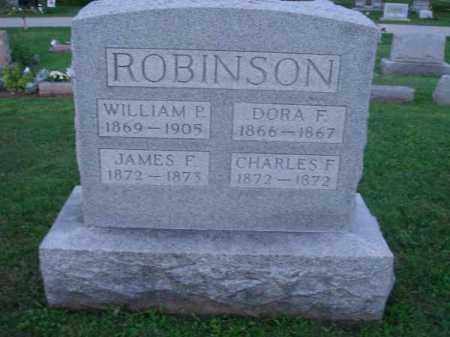 ROBINSON, DORA F. - Fairfield County, Ohio | DORA F. ROBINSON - Ohio Gravestone Photos