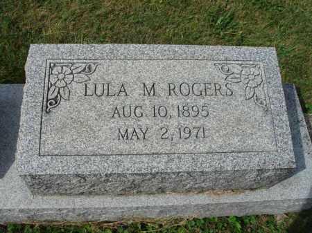 ROGERS, LULA M. - Fairfield County, Ohio   LULA M. ROGERS - Ohio Gravestone Photos