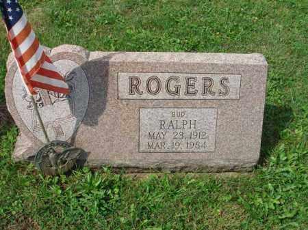 "ROGERS, RALPH ""BUD"" - Fairfield County, Ohio | RALPH ""BUD"" ROGERS - Ohio Gravestone Photos"