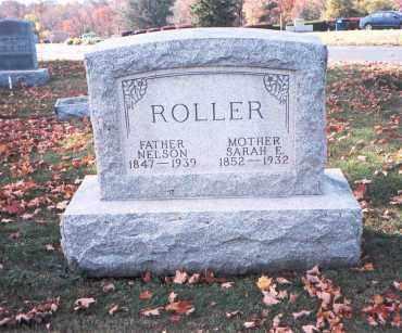 ROLLER, NELSON - Fairfield County, Ohio | NELSON ROLLER - Ohio Gravestone Photos