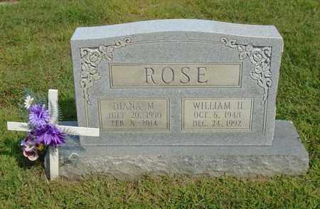 ROSE, WILLIAM H. - Fairfield County, Ohio | WILLIAM H. ROSE - Ohio Gravestone Photos