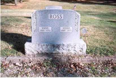 ROSS, JESSIE - Fairfield County, Ohio | JESSIE ROSS - Ohio Gravestone Photos