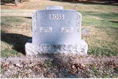 ROSS, VANE - Fairfield County, Ohio | VANE ROSS - Ohio Gravestone Photos